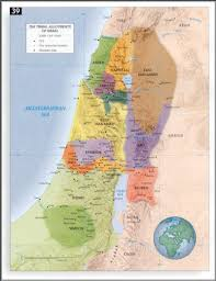 New Testament Map Canaan Conquest In Biblical Archeology Bible Study Pinterest
