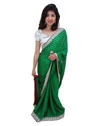 sari mariage en stock sari mariage et vert tenue de fête indienne perlé