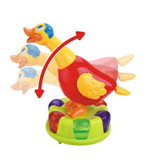 baby toys with lights and sound funny sound and light music electric rings cartoon small duck toys