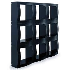 astounding black shelving system design for living room interior