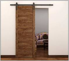 sliding kitchen doors interior sliding barn door kit home depot