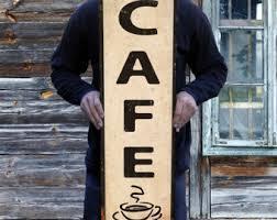 cafe sign etsy