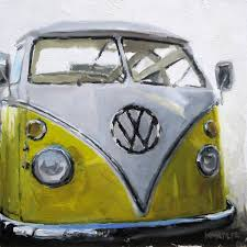 volkswagen bus art michael naples vw bus