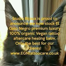 tattoo healing balm el gato negro my studio studio bijoux bradford uk now stocks el gato negro
