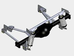 mustang suspension 4 link ford coil rear suspension systems