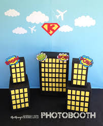 free halloween backdrops for photography free downloadable superhero printables could use this for a trunk