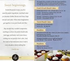 nothing bundt cake menu 28 images nothing bundt cakes 101