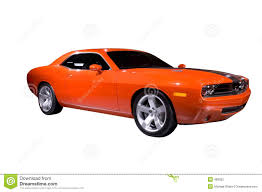 red orange cars orange muscle car stock photo image of over custom automobiles