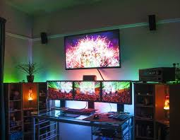 25 Best Ideas About Gaming Setup On Pinterest Pc Gaming by 278 Best Gaming Set Ups Images On Pinterest Desk Setup Pc Setup