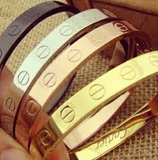 stainless steel cartier bracelet images Tendance bracelets love it cartier fashion this is my dream jpg