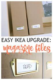 ikea magazine that mommy blog easy fix for cardboard magazine files ikea fluns