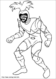 rangers coloring picture
