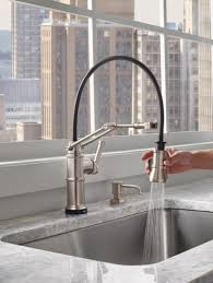 Brizo Solna Kitchen Faucet by A Kitchen Faucet That Works Hard And Looks Good Doing It