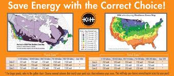 Growing Zone Map Amazon Com K U0026h 8125 Perfect Climate Deluxe 250 Watt Pond De Icer