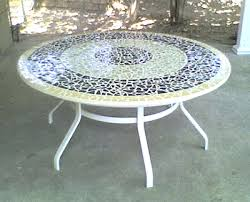 Mosaic Patio Table Top by Side Table Mosaic Patio Side Table Mosaic Top Patio Side Table