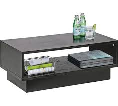 black side table with shelf buy home cubes 1 shelf coffee table black ash coffee tables