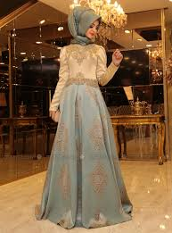 pinar sems harem evening dress mint pinar sems muslim fashion