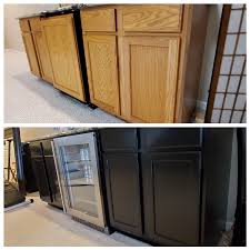 painting your kitchen cabinets black tips for painting kitchen cabinets black dengarden