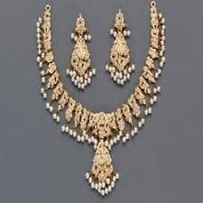 pearls necklace sets images Stunning pearl necklace sets artificial and metal necklaces jpg