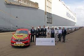 volkswagen pune volkswagen india exports its 100 000th car to mexico