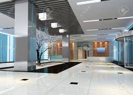3d modern hall corridor stock photo picture and royalty free