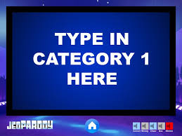 Jeopardy Powerpoint Game Template Youth Downloadsyouth Downloads Jepordy Template
