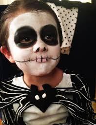 Jack Skellington Halloween Costume Kids Face Paint Perfection Awesome Children U0027s Face Paint Ideas Ninja