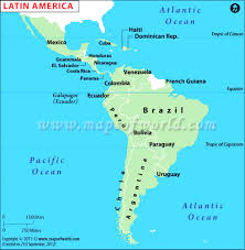 Usa Capitals Map Map Of Latin America And Their Capitals Ambear Me