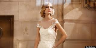 davids bridals david s bridal wedding dresses huffpost weddings editors picks