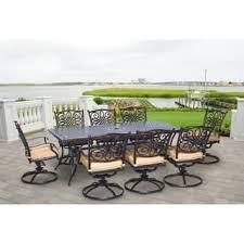 8 Piece Patio Dining Set Outdoor Dining Sets Shop The Best Patio Furniture Deals For Nov