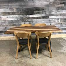 Rosewood Dining Room Set Live Edge Wood Dining Table Rustic Furniture Outlet