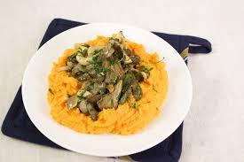 cuisiner les pleurotes purée de potimarron et poêlée de pleurotes quitoque