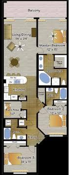 3 bedroom condos in panama city beach fl condo types resort collection