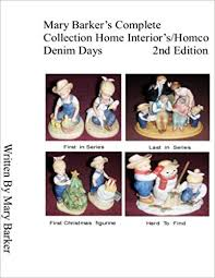 home interior denim days amazon com barker s complete collection home interior s homco