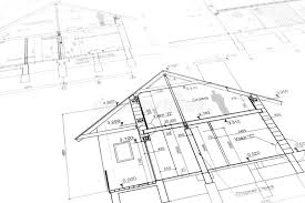 new house blueprints new home plan blueprint stock photo image of reconstruction