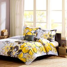 accessories prepossessing pleasant grey and yellow bedroom also