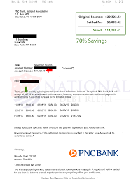 Loan Outstanding Letter debt settlement letters