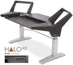 Sit And Stand Computer Desk by Argosy Halo Ke Workstation Base Sit Stand Sweetwater