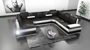 canapé d angle avec appui tête canapé d angle panoramique en cuir lowing mobilier moss