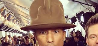 Pharrell Hat Meme - the 2014 grammys the year we all fell in love with pharrell s