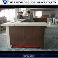 high quality custom kitchen bar counter design for restaurant home
