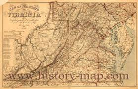 Map Of Virginia by Of Virginia