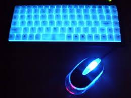 Laptop With Light Up Keyboard Illuminated Usb Keyboard U0026 Mouse Pc Laptop Light Up New Pc