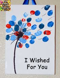 i wished for you valentine u0027s day fingerprint art canvas