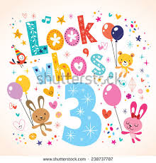3rd birthday stock images royalty free images u0026 vectors