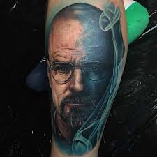 blue smoke walter white tattoo best tattoo ideas gallery