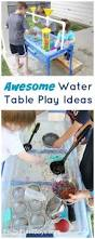awesome water table play ideas lego boat water tables and play