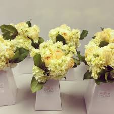 wedding flowers delivered in a box card gift box black or white