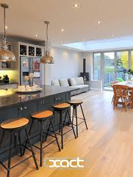 kitchen extension ideas dining room kitchen extensions ideal home regarding measurements