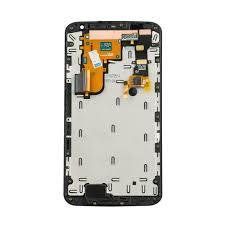 nexus motorola nexus 6 lcd u0026 touch screen assembly frame